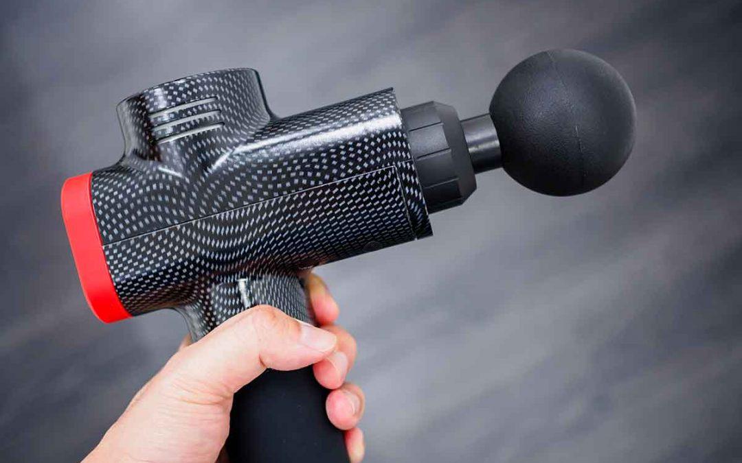 Brug en massagepistol til dine spændte muskler